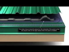 How to install metal roof eave trim for Union's MasterRib panel. - YouTube