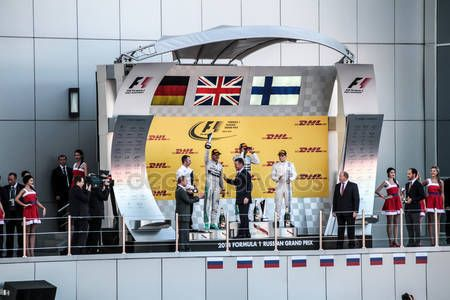 Rewarding. Formula One, Russian Grand Prix.