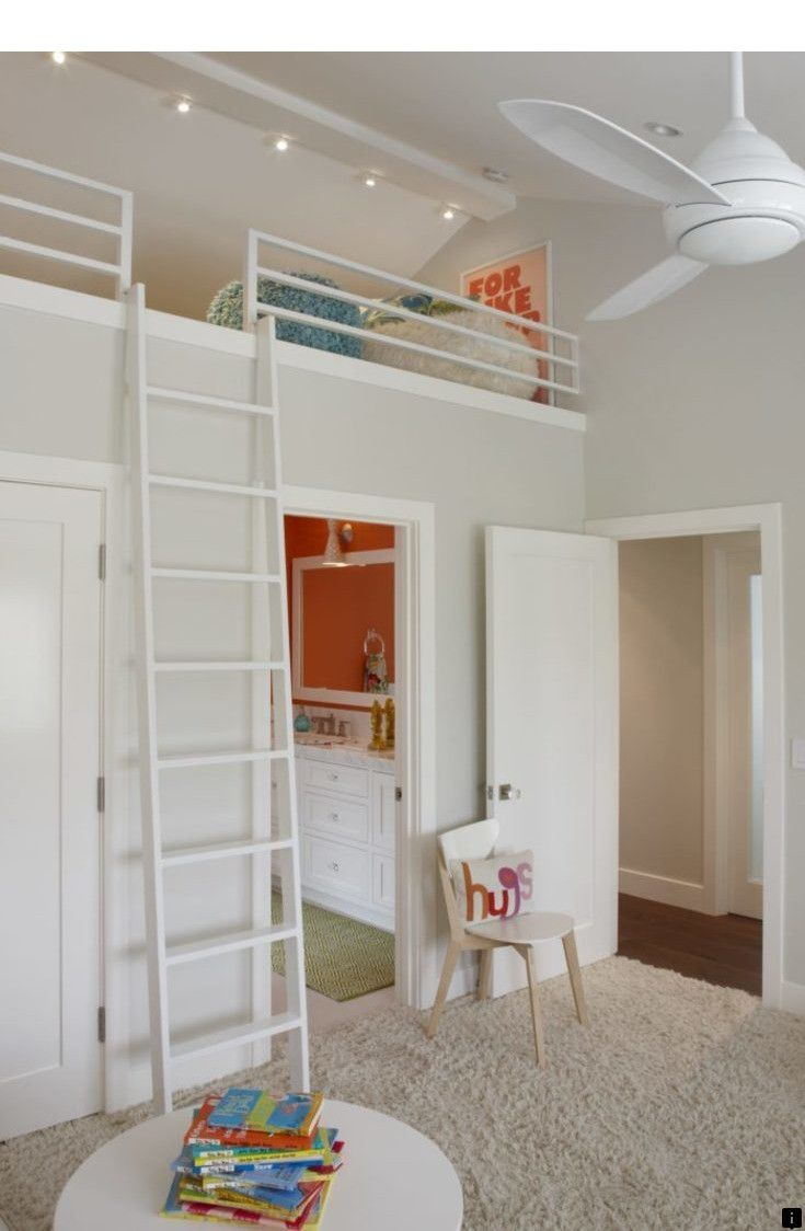 Loft above bedroom  Discover more about bunk beds and storage Just click on the link