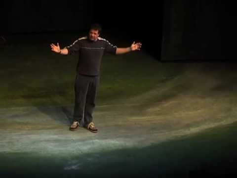 Mark Thomas political comedy stand up show