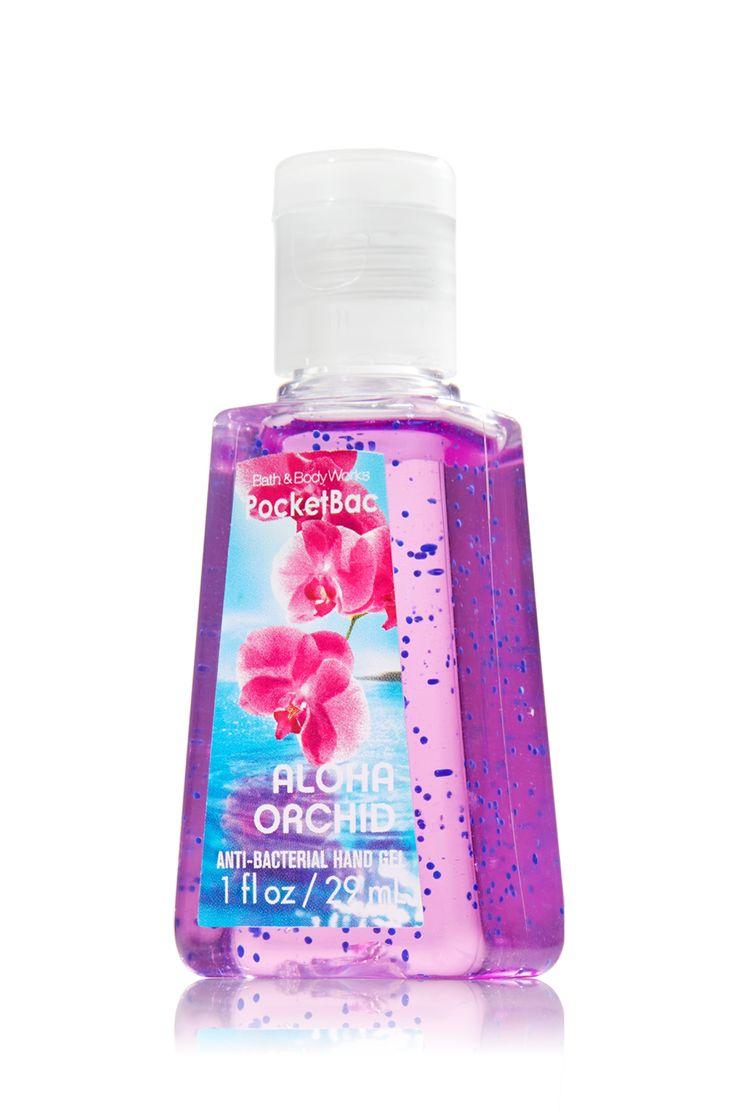 Aloha Orchid Pocketbac Sanitizing Hand Gel - Anti-Bacterial - Bath & Body Works