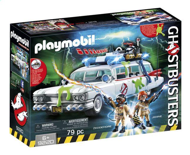 Achter het stuur van de Ecto-1 van Playmobil ga je op spokenjacht met je vrienden, de Ghostbusters. Wat 'n belevenis!
