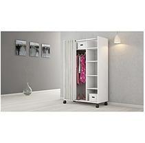 D-Scan Mobile Wardrobe Storage Cabinet