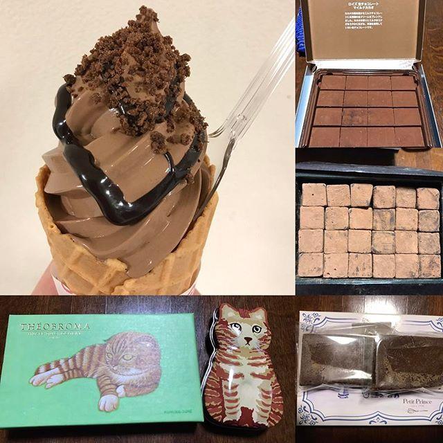 2017.2.14.バレンタインデイ✨ ・ ソフトクリームを愛し、ソフトクリームに愛された男✨yudailovinson(⁎⁍̴̆Ɛ⁍̴̆⁎)✨ジャスティス!! ・ ラストを飾るのは阪急百貨店のソフトクリームではなく「阪神百貨店」の8階催事場「バレンタインスタジアム」の「ヴィタメール・ソフトクリーム・ショコラ¥486」でした✨ラストを飾ってもらったので、結構「寄り」で撮りました。 ・ ハイビジョン、高画質、目の前にその空間が実在するかのような錯覚さえするものになってきている時代。4K、更には8Kのテレビが発売される時代。そんなに寄られたら私の「巻きシワ」がくっきり写って恥ずかしいじゃないのよ…と、そんな声が聞こえてきそうな… ・ そう思ったらどこか恥じらいながら撮られている様に見えますね、ソフトクリーム。可愛いね、ソフトクリーム。美味しいね、ソフトクリーム。ありがとう、ソフトクリーム。 ・  ・ 足掛け約15日間、計13個、ごちそうさまでした✨ ・ 計画では最初に食べた「パレドオール」のそれをラストに持ってきて、パレドオールに始まりそれで終わる…予定でした。 しかし! ・…