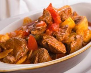Bœuf mijoté à la tomate du régime Montignac