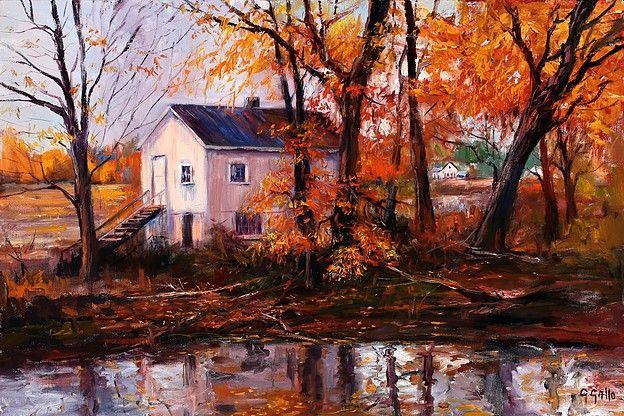 The Island House, Autumn - George Gallo