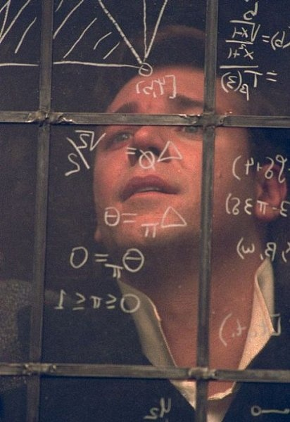 One of my favourite movies, with one of my favourite actors <3 A Beautiful Mind, Russell Crowe