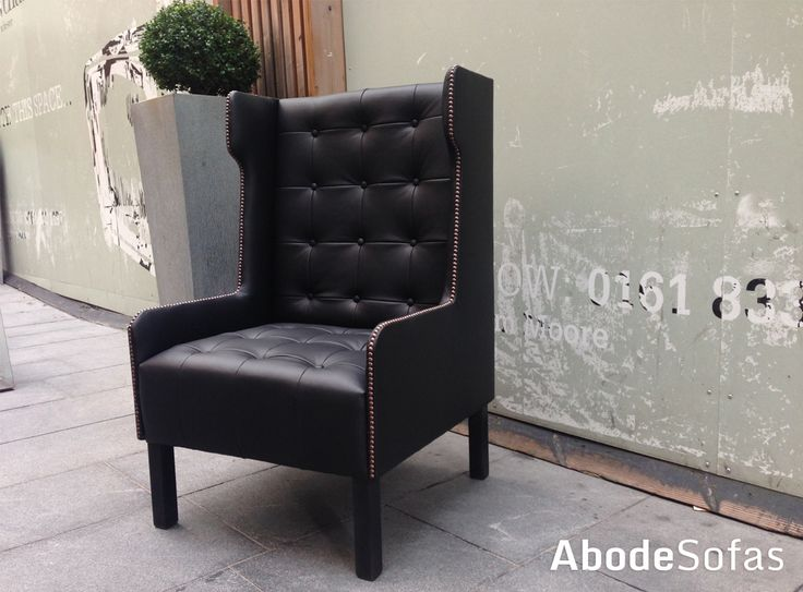 One of our bespoke chairs done for Manchester House | Abode Sofas