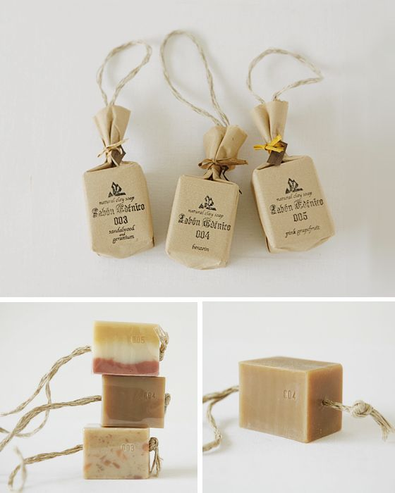 Great soap packaging