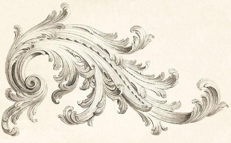 victorian art with scrollwork fancy scroll design clip art van design pinterest. Black Bedroom Furniture Sets. Home Design Ideas