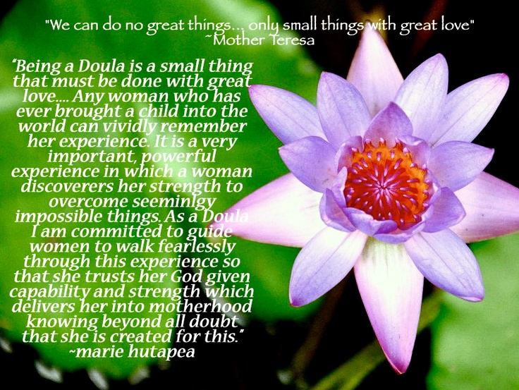how to become a doula