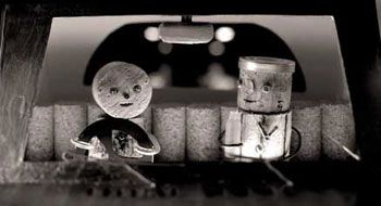 版画家・コルク人形作家 片岡まみこ|真夜中のドライブ10 / 12 「コルク人形展1998」原宿・ROCKET 1998年