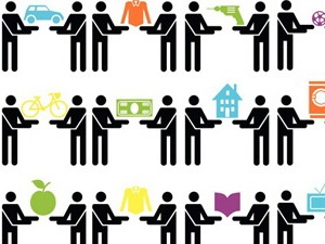 Collaborative Consumption - een website waar alles te lezen is over het delen, ruilen, lenen en (ver)huren van goederen. Niet alleen met mensen om je heen, maar door de technologie die tegenwoordig voorhanden is, op een schaal die we eerder nooit voor mogelijk hielden.