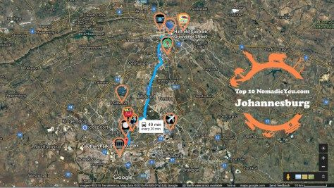 Top 10 Johannesburg NomadicYou.com