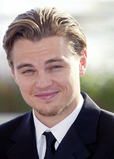 Leonardo DiCaprio, der am 21. Mai 2002 in Cannes, Frankreich, für New Yorker Banden wirbt
