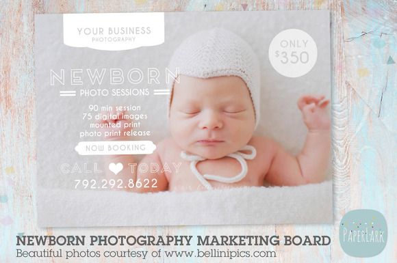 IN004 Newborn Marketing Board by @Graphicsauthor