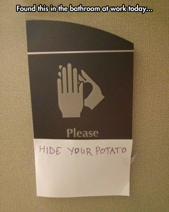 Nobody Wants To See Your Potato