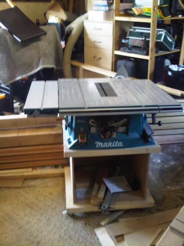 Perfect Table Saws Bases | Re: Mobile Table Saw Bases .