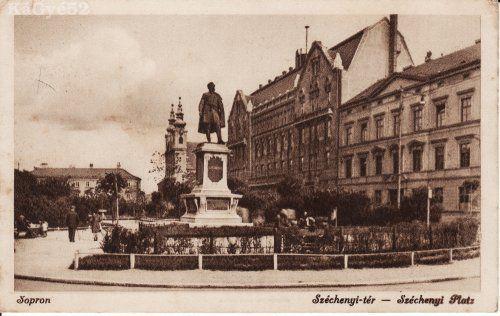 Sopron Széchenyi tér 1936