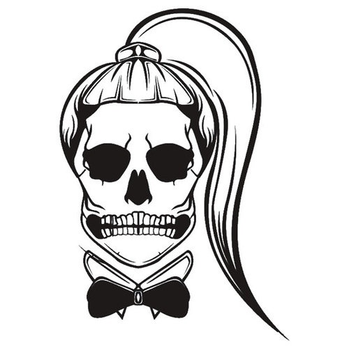 Lady Gaga skull tattoo. I'm totally getting this done! Mother monster. <3