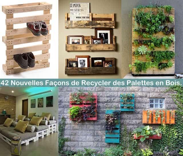 42 idées originales pour recycler des palettes en bois et faire des meubles