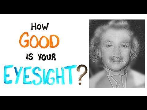 Bedava göz kontrolü. Bu resimde Einstein'i görenlerin gözleri iyi, Marilyn Monroe görenlerin gözlüğe ihtiyacı var. - SüPERiLERi