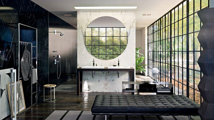 Making every step an upscale image of luxury #BathroomDesign #InteriorDesigner #homedesign #luxurylifestyles
