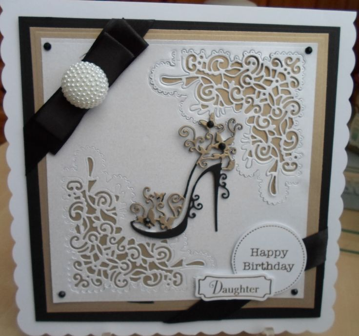 tattered lace tink fairy die cards - Google Search