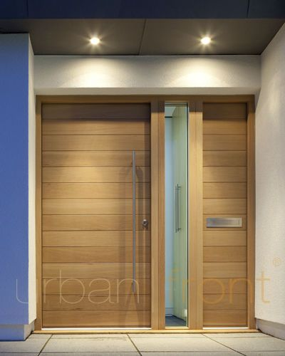 front entry doors wood - Google Search