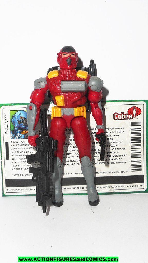 GI JOE Valor vs Venom COBRA Viper v14 2005 army builder action figure complete