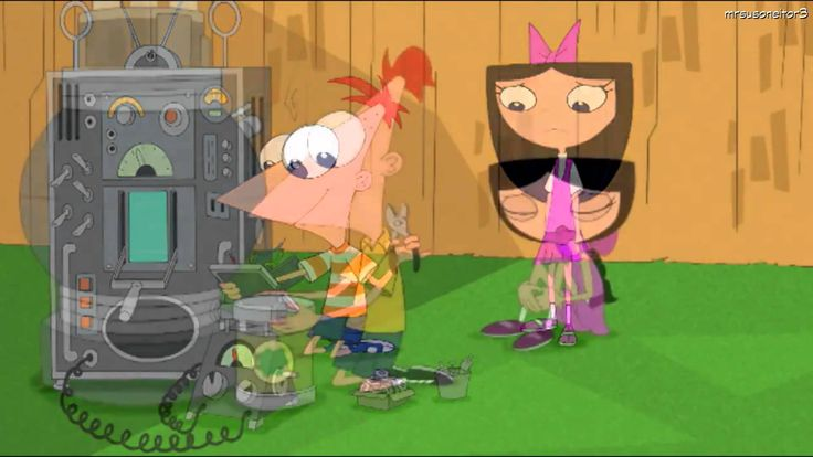 Phineas and Ferb - Act Your Age - Phineas and Isabella song