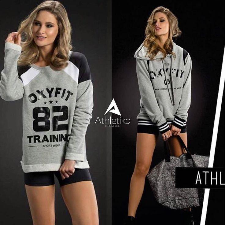 Moletons Oxyfit para ir treinar para passear para não passar frio! Dois modelos disponíveis em nossa loja meninas! . Link da loja na BIO. ___________________________________________  #missfitbrasil #lifestylefitness #lindaatetreinando #amamostreinar #girlswholift #fitnessmotivation #girlswithmuscles #fitnesswear #dedication #motivation #gymlife #fitgirl #gethealthy  #fitmotivation #youcandoit #mulheresquetreinam #fashionfitness  #estilodevida #musculacaofeminina #zumba #yogalovers #pilates…