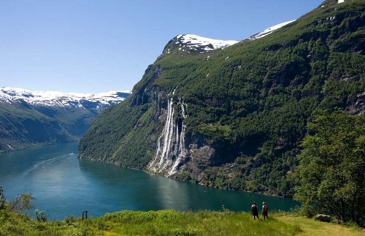 Norwegian Fjords Geirangerfjord and Naeroyfjord