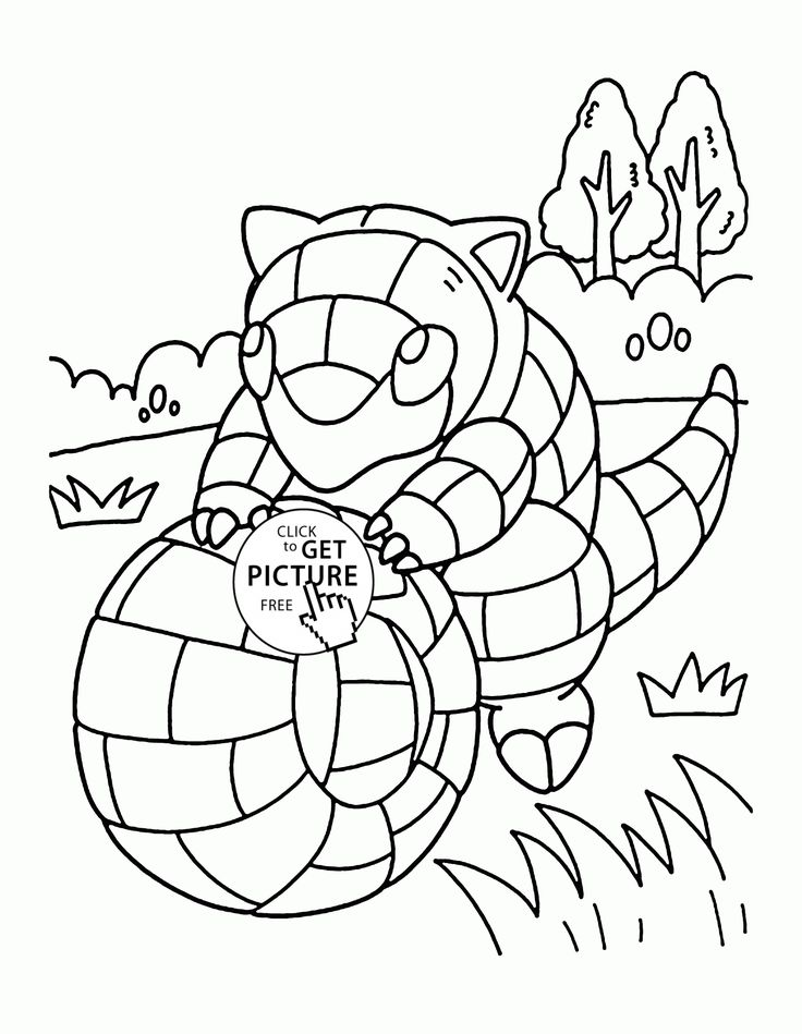 46 best pokemon coloring pages images on pinterest draw, colours sandshrew coloring page When Does Sandshrew Evolve Coloring Sheets of Animals