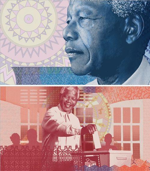 South Africa's newNelson Mandela banknotes