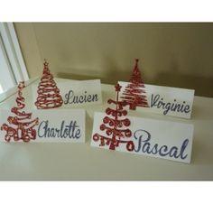 Réalisez un marque-place pour votre table de Noël : Odile S
