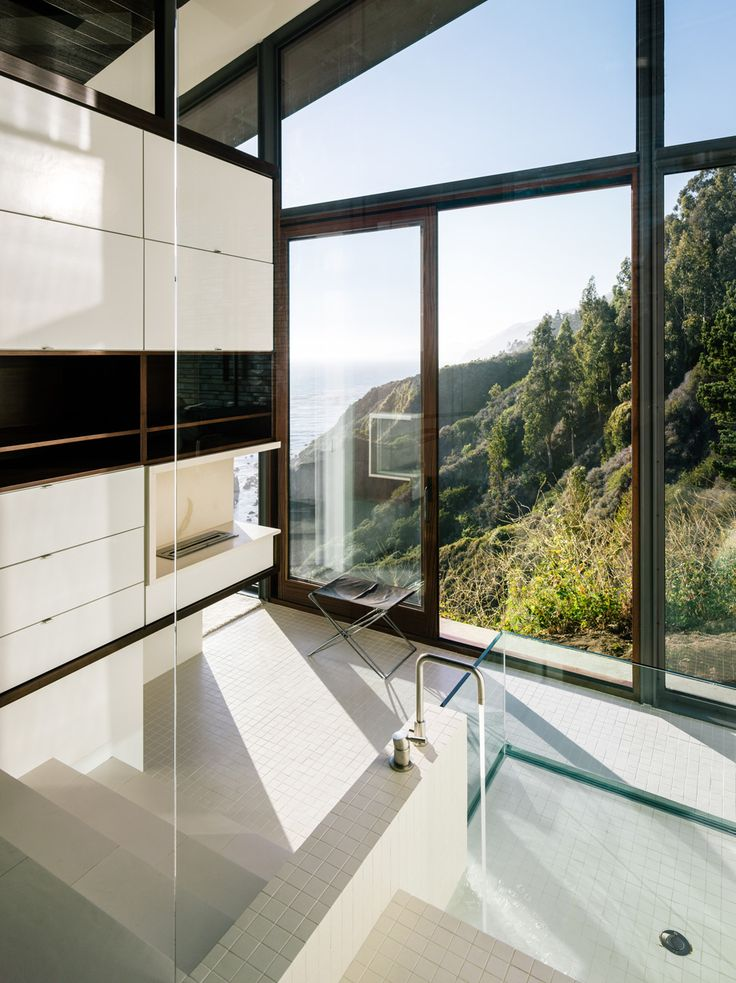 A Big Sur House Overlooking the Pacific Ocean | The Fall House | Designed by Fougeron Architecture