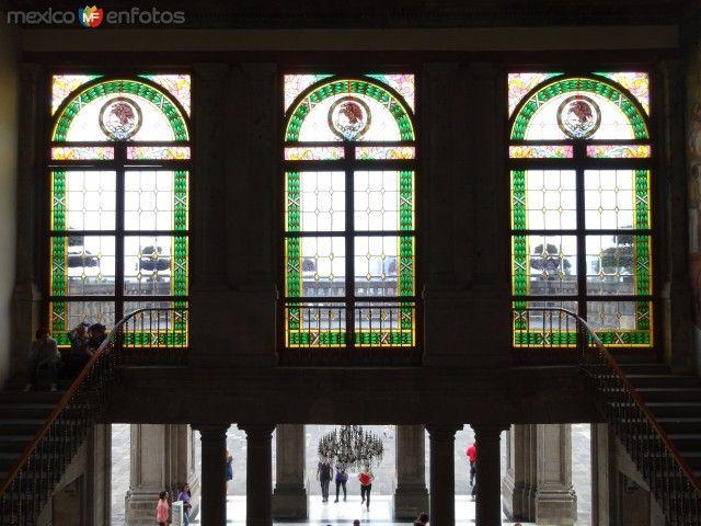 Vitrales en el Castillo de Chapultepec