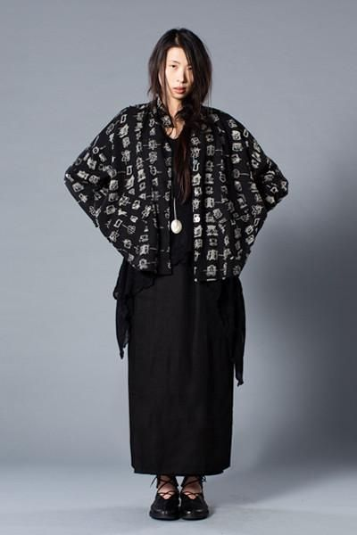 Shown w/ New York Jacket and Overlap Skirt