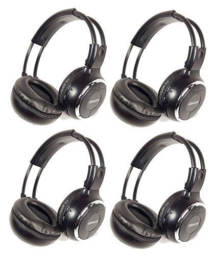 Special Offers - Gravity GR50WH4-Pack Single Channel Universal IR Infrared Wireless Foldable In-Car Headphone for TV Video Audio Listening Review - In stock & Free Shipping. You can save more money! Check It (November 23 2016 at 05:43AM) >> http://eheadphoneusa.net/gravity-gr50wh4-pack-single-channel-universal-ir-infrared-wireless-foldable-in-car-headphone-for-tv-video-audio-listening-review/