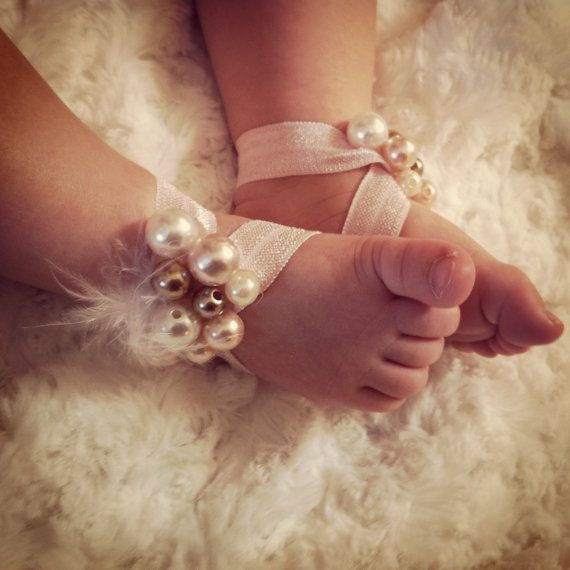 sandal barefoot sandals baby sandals sandals by FairyDustCouture, $10.00