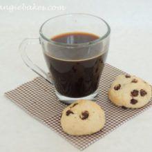 Tvarohové keksíky s kúskami čokolády
