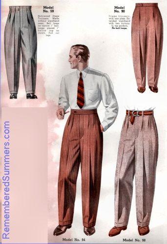men's fashion 1950 | witness2fashion