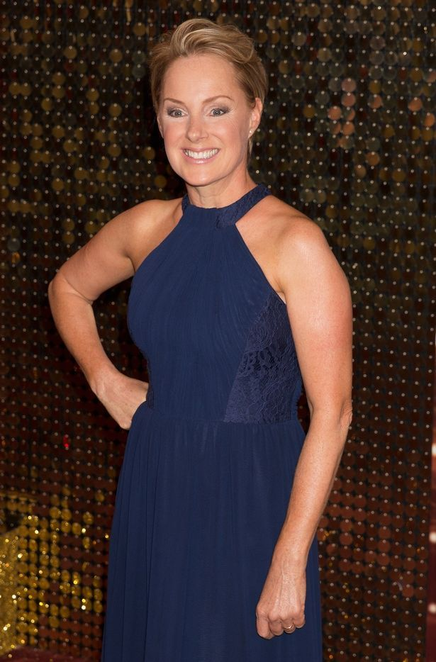 Sally Dynevor attends the British Soap Awards