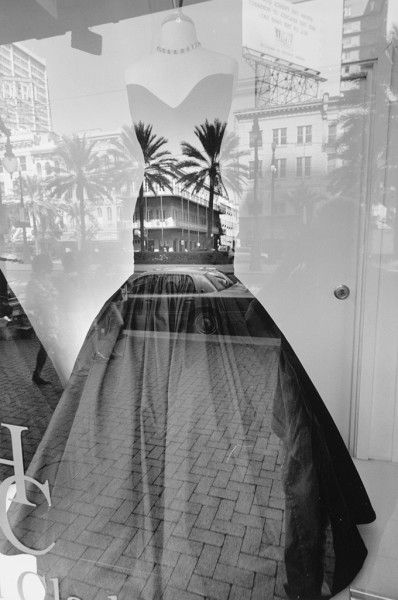 Lee Friedlander - Mannequin, New Orleans, 2011. S) i think its really pretty and the replection on the dress, it works well