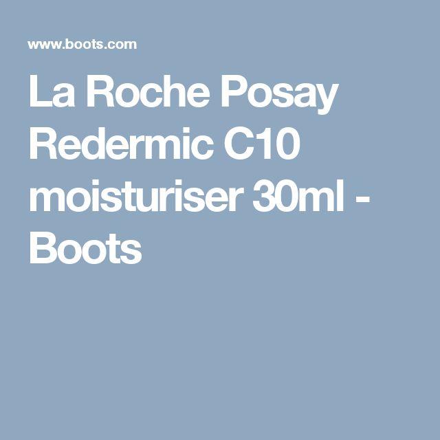 La Roche Posay Redermic C10 moisturiser 30ml - Boots