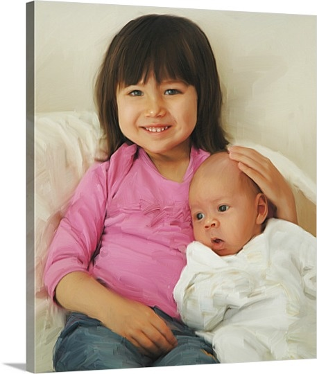 Photos to Oil Painting Style Canvas Prints