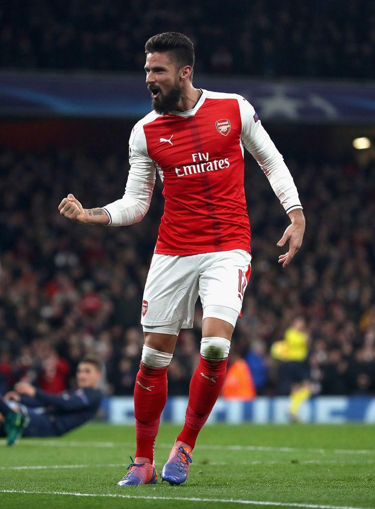 Olivier Giroud Photos Photos - Arsenal FC v Paris Saint-Germain - UEFA Champions League - Zimbio