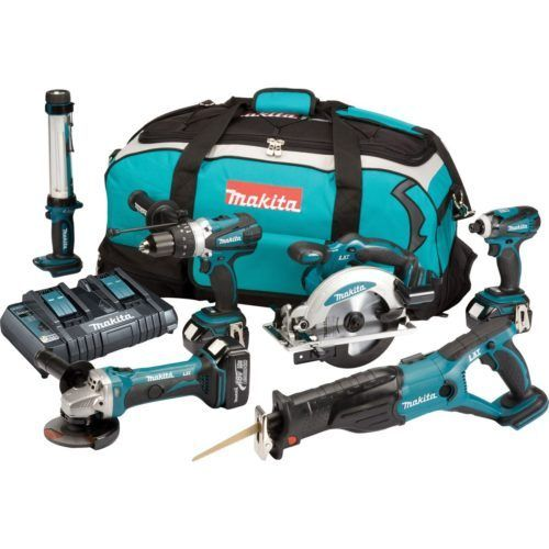 MAKITA DLX6000PM 18V LXT 6 PIECE KIT (3X4AH), 1 500x500, power tools, power tools uk, power tool store, cheapest place for power tools