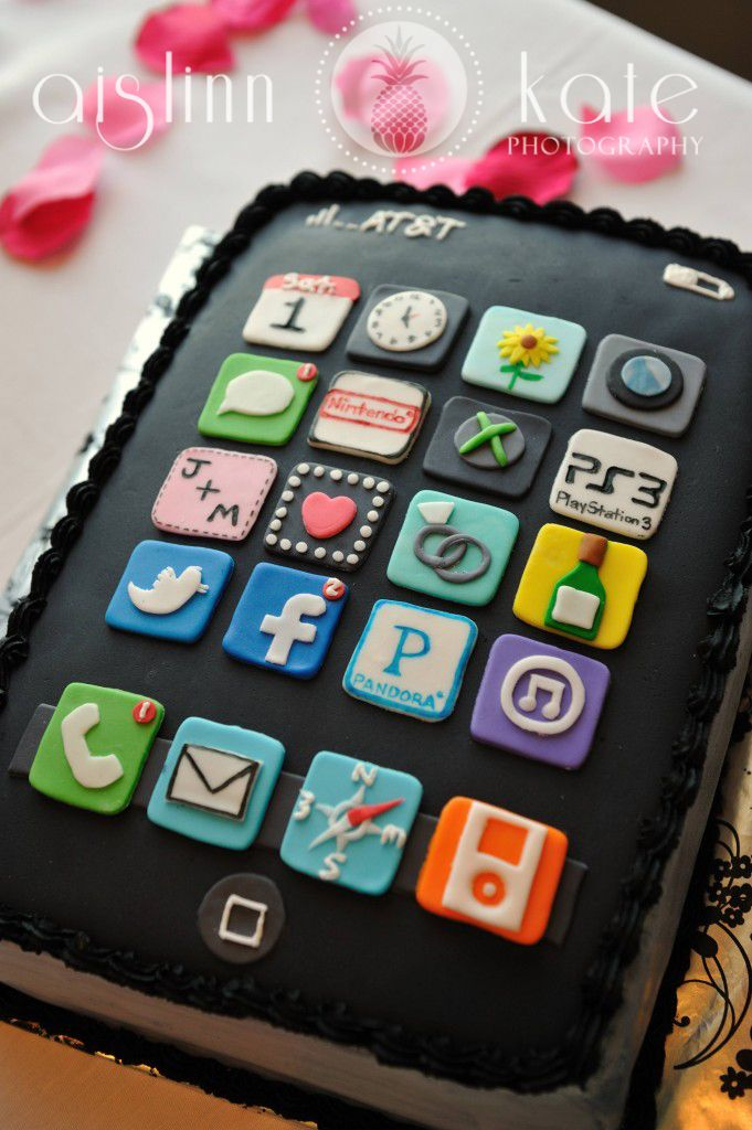 20 best cell phone cakes images on Pinterest Birthday cakes